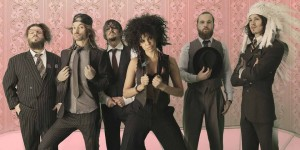 Shaka Ponk French electronic funk rock band
