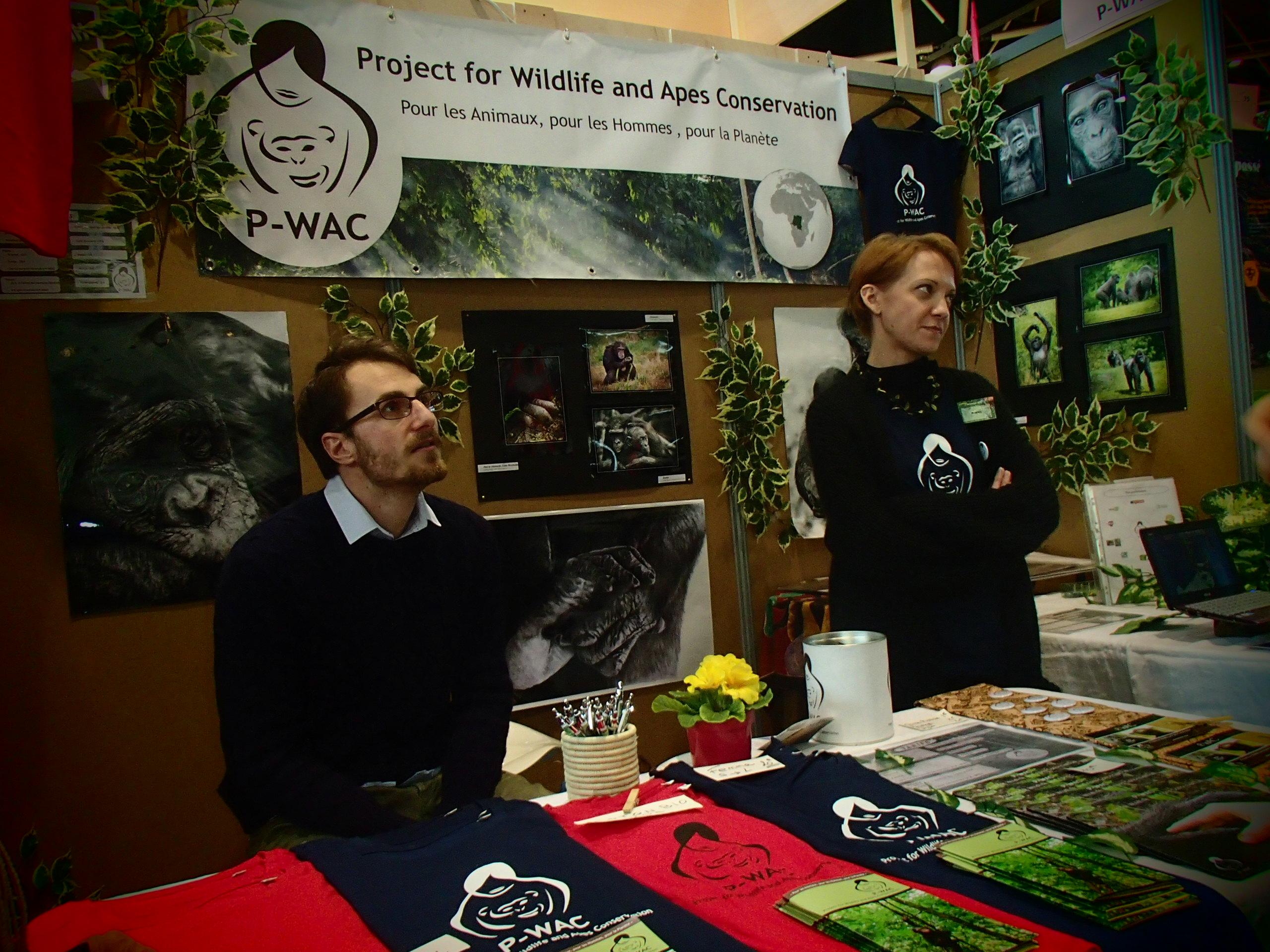 P wac presents its environmental mission at salon primevere - Salon primevere lyon ...
