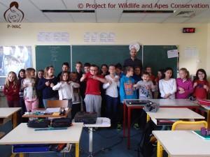 Classe de CM1, Stéphane DAVID et ses élèves